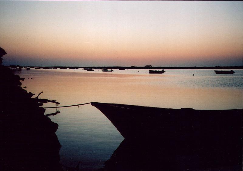 Cabanas De Tavira - by night