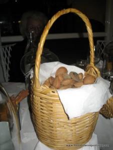 Almonds at Dom Sebastião Restaurant Lagos