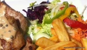 Portuguese black pork - delicious