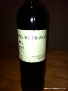 Portuguese restaurants - Mestre Franco wine