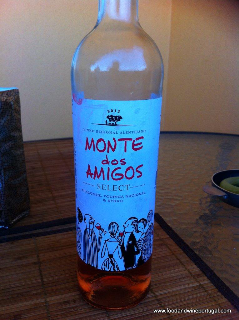 Portuguese wine review - Monte dos Amigos