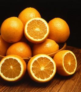 Oranges - in plentiful supply in the Algarve