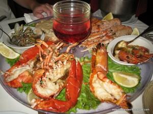 O Infante - part of the shellfish platter