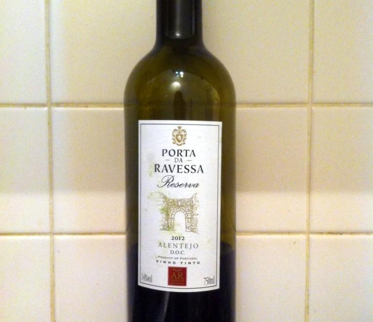 Portuguese red wine - Porta da Ravessa Reserva