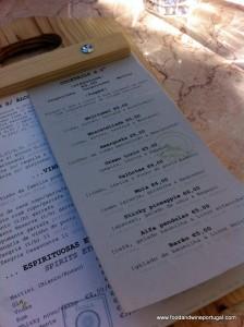 Hamburgeuria Casavostra - menu